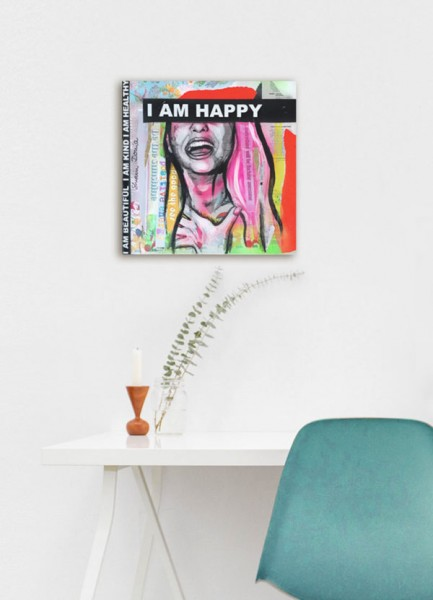 HAPPY – mini - Unikat