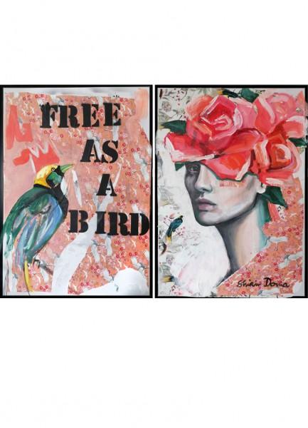 FREE AS A BIRD - Unikat