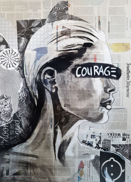 COURAGE - Print