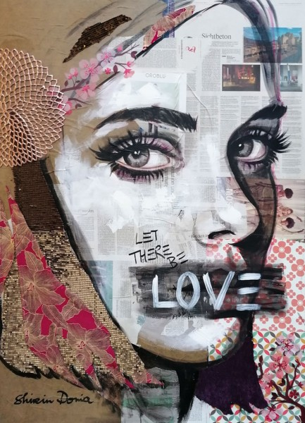 LET THERE BE LOVE - Print