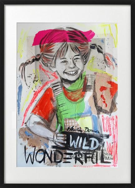 WONDERFUL & WILD - Print