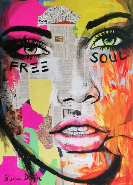 FREE SOUL - Print