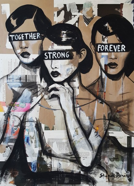 TOGETHER STRONG FOREVER - Print
