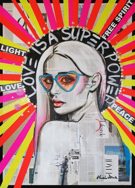 LOVE IS A SUPERPOWER - Print