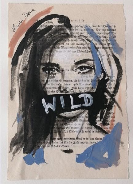 M: WILD GIRL - Print