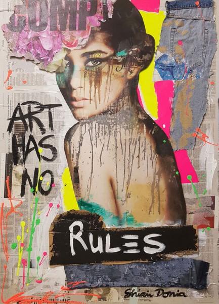 NO RULES - Print