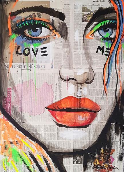 LOVE ME - Print